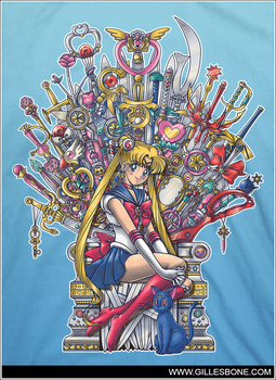 .Throne of Magic. by GBIllustrations