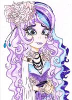 ART TRADES EVER AFTER HIGH OC: LIE ERROW by Haneeys1nsyeerah