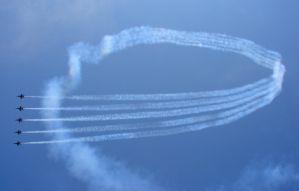 Blue Angels Air Show Flight 02 by FantasyStock