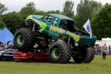 Monster Truck 01 - Swamp Thing by gopherboy76
