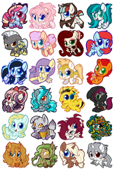 Chibi Pones by Centchi