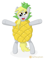 Pineapple Hooves wants Hugs! by muffinexplosion