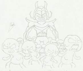 Kentyth's Army of Kenneth (uncolored) by TAWoGFan2000