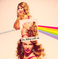 +You belong with me by Adaywithoutyou