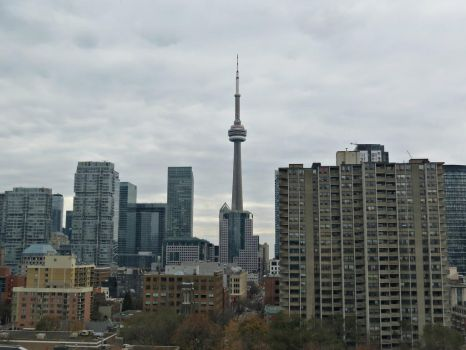 Toronto Skyline by Michies-Photographyy
