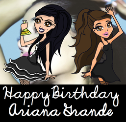 Happy Birthday Ariana Grande by IThoughtIWasCool