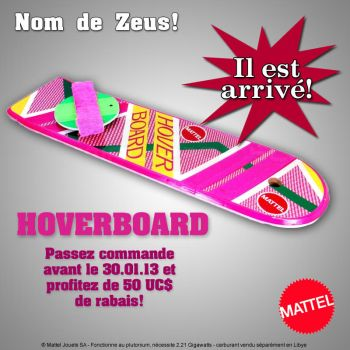 Hoverboard ad by Reorian
