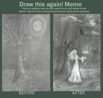 meme  before and after the Witch by Hevflynia