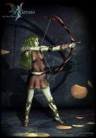 Serice - Archer of the Autumn Woods by Andecaya