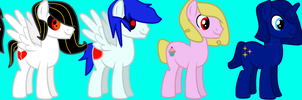 My Mane 6 Gender Change by theshadowpony357