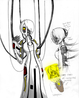 Humanized GLaDOS by Inverted-Mind-Inc