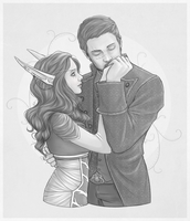 CM: Marcus and Seraphine by Gnewi