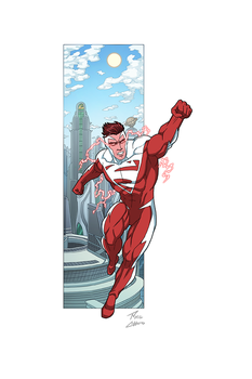 Superman Red commission by phil-cho