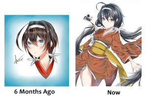My evolution in digital art by Fhilippe124