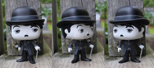 Custom Commissioned Charlie Chaplin by LMRourke