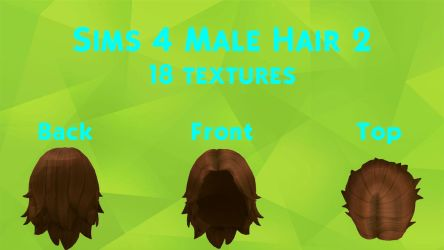 MMD Sims 4 Male Hair 2 [DL] by Lex-The-Bookworm