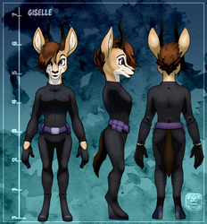 COM- Giselle (Clothing Ref) by CatbeeCache