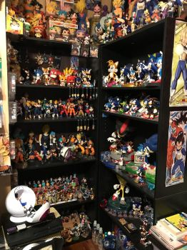 Some of my collection DBZ/Sonic by SONICJENNY