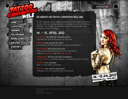 TXB204 - Website Tattoo Convention Wels 2012 by basstar