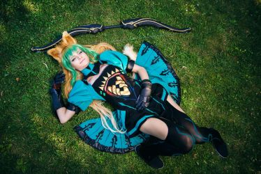 Atalanta - Archer of Red (FATE) cosplay by AnitramNoriko