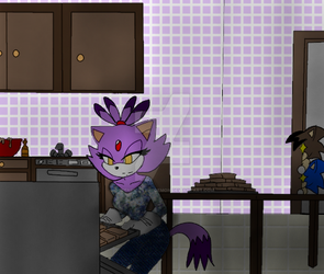 A gif for my bf shadow flare Sonaze by QueenEmilythedemon