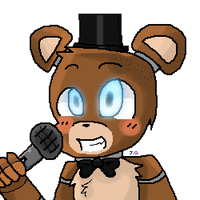 (Request) Fnaf Freddy Icon by Jordie-bun