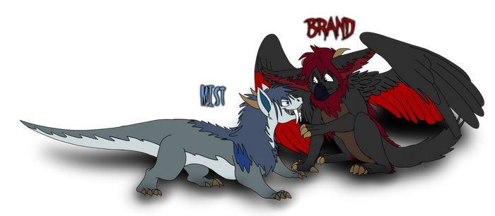 Horror Shop: Mist and Brand by thevizir