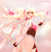 Pink Mercy by sharpteething