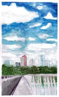 City and Sky by iyka