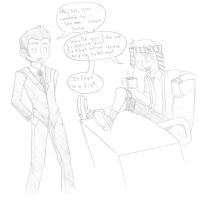IANTO COME HERE FOR A SEC by kittypretzels15