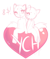 Valentines day YCH ((im dead inside)) [4/4] by royaIin