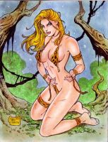 JUNGLE GIRL by RODEL MARTIN (10062015) by rodelsm21