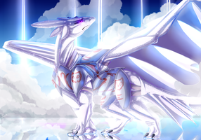 Sky mirror by Diagon-and-Draco