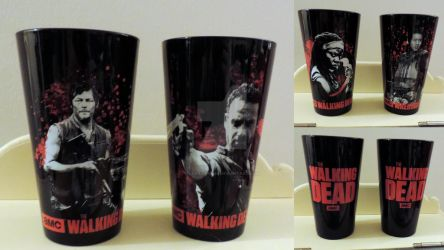 My Black The Walking Dead Glasses by LoriLynnM89