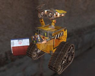 Wall-E by Liamous