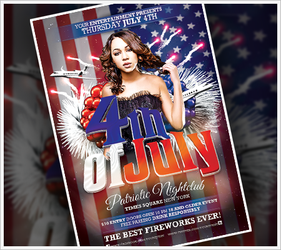 4th of July Flyer by RomacMedia