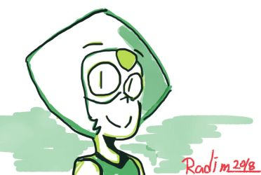 peridot by TheRACOONIST