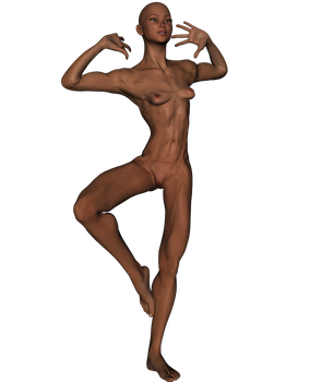 Stock-110lb-5ft0in-8bi-Runner-P13-A01-Dance by ShadowRx