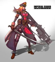 imperial guard(w.commissars) by consep99