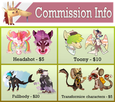 Commission Prices (OLD) by wrensw