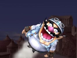 Wario's Way Of Flying by EpicBrawlPictures