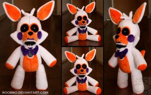 FNAF Sister Location - Funtime Lolbit - Plush by roobbo