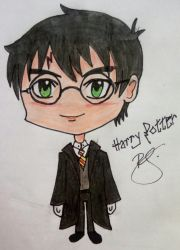 Harry Potter by RebeccaSirota