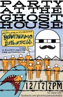 Party at the Ghost House II by servilonus