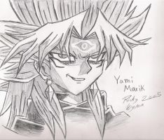Yami Marik II by BloodlustBakura