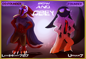 BOW AND OBEY, SPACE-GARDEN. by LeadHeart787