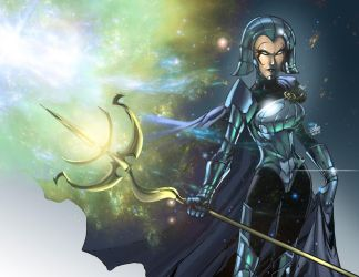 lilandra color by toonfed
