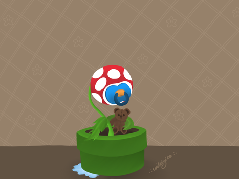 Baby Piranha Plant by wildgica
