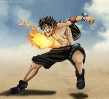 Fire Fist Ace by Lord-Nadjib