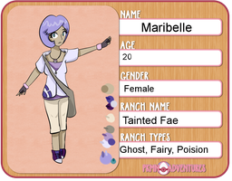 PKMN-Adventures:: Trainer Maribelle wants to fight by Inuinuie